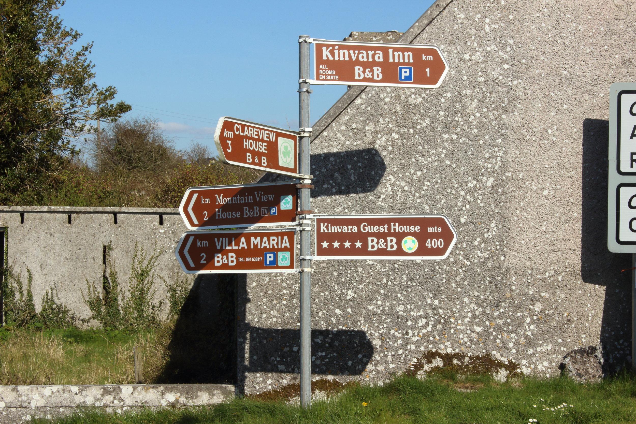 So many Irish choices!