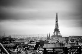 One of the best views of the Eiffel Tower from Le Centre Pompidou