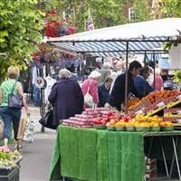 Market Day in Salisbury