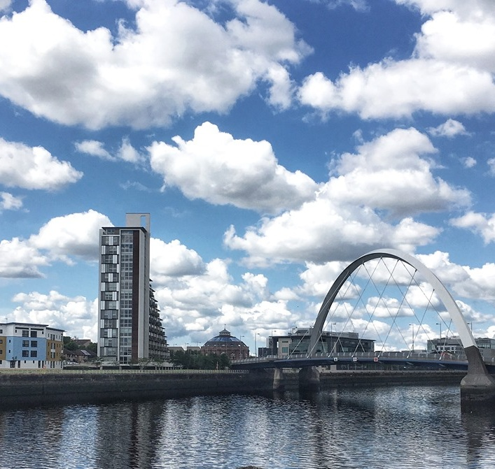Views Along The River Clyde Pathway