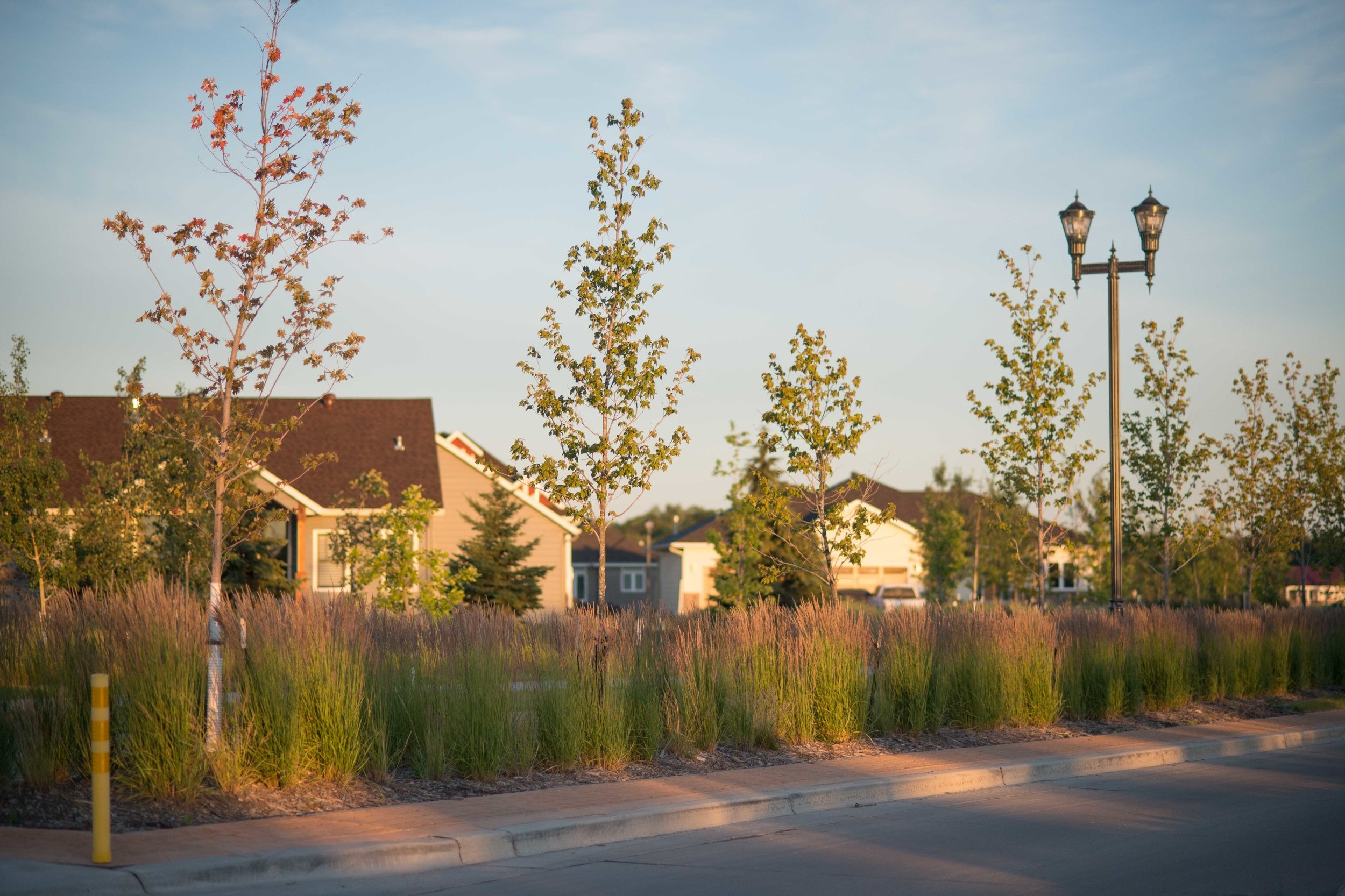 This West Fargo planning project is placed along a serene corner of the Sheyenne River.