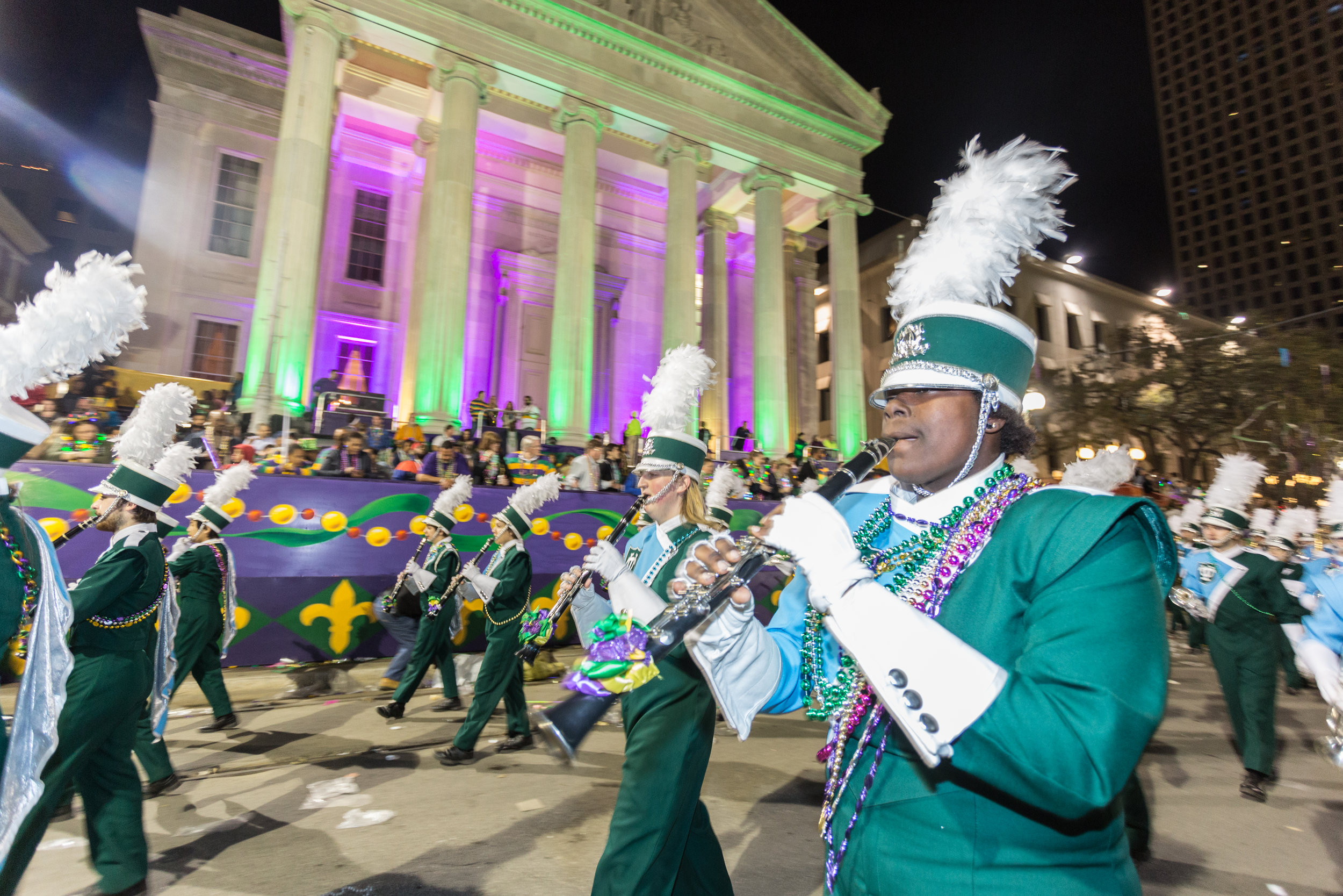 TUMB in Krewe of Endymion, Mardi Gras 2017. Photo by  Zack Smith Photography