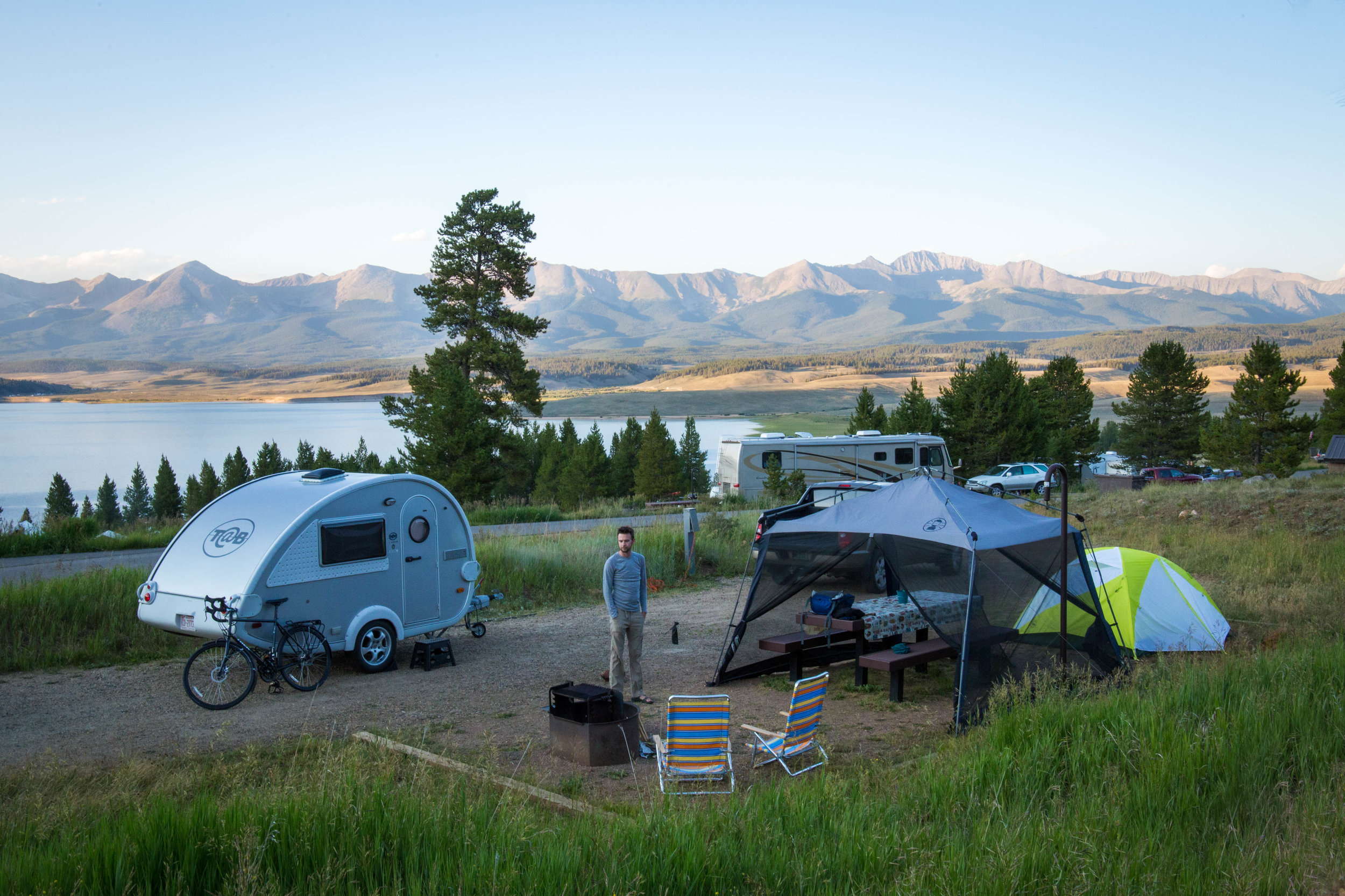 Lakeside Campground near Crested Butte Colorado