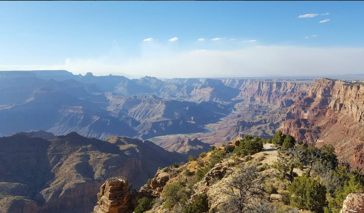 Grand Canyon - photo by @onebluebike