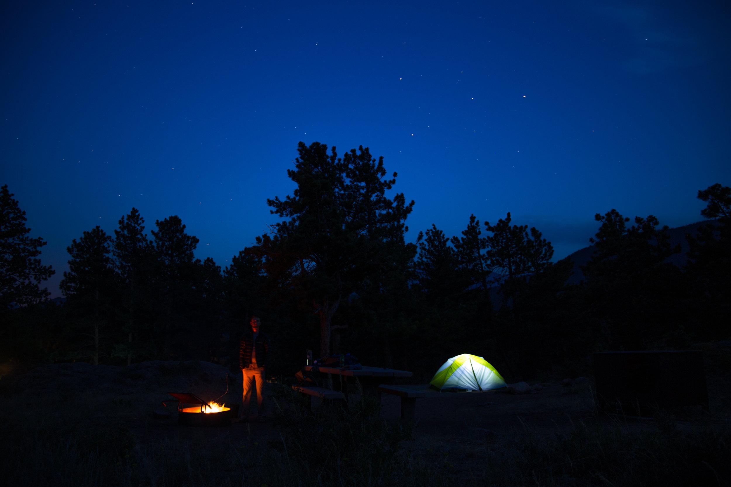 Evergreen Era Films_camping