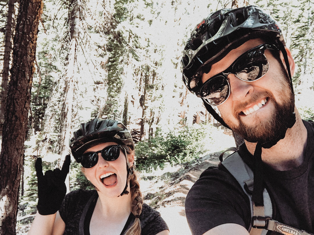 Downieville is a tiny little historical town, but it is known for it's mountain biking trail - and that's why we went!