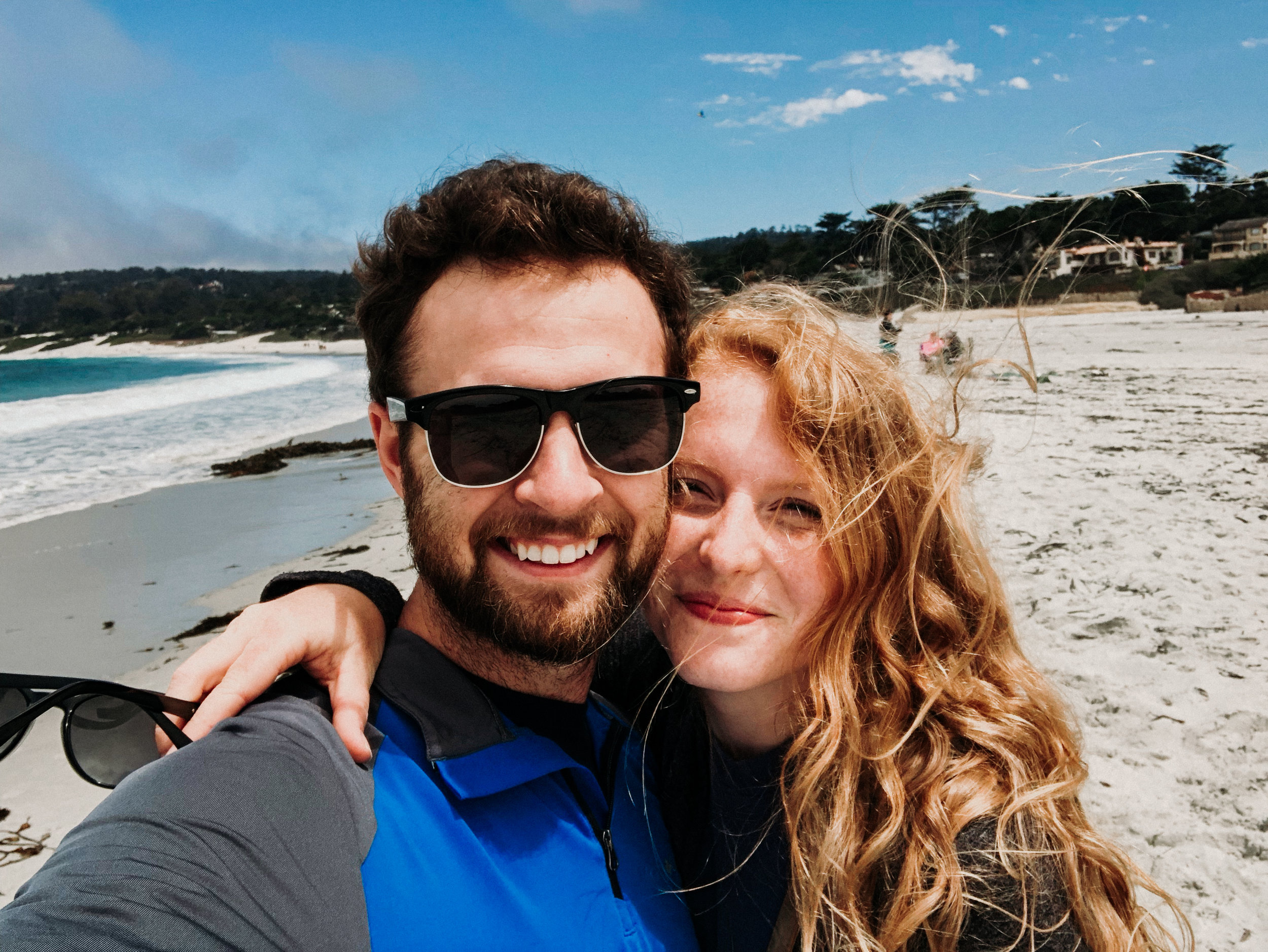 Because we couldn't go to Yosemite, we headed to Carmel and Big Sur instead and enjoyed some luxury