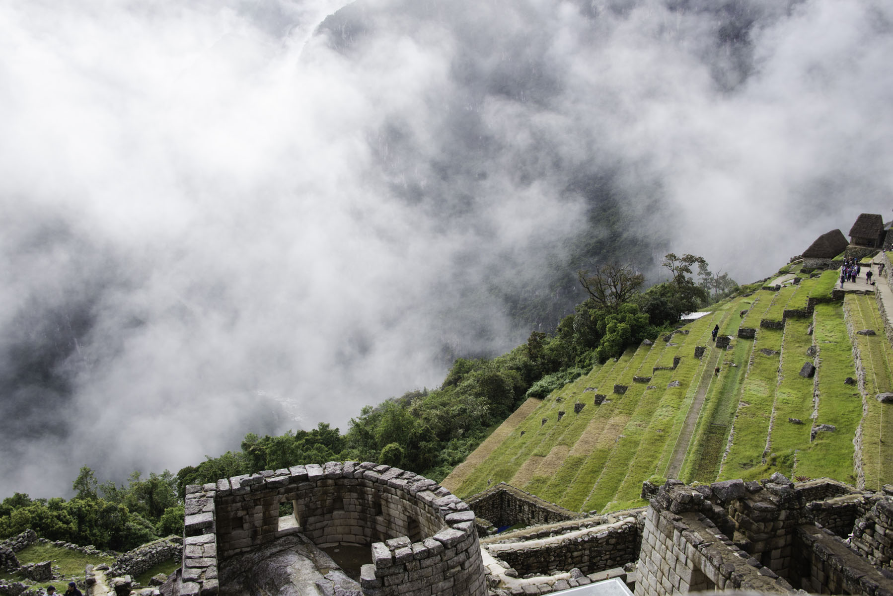 Buildings at Machu Picchu