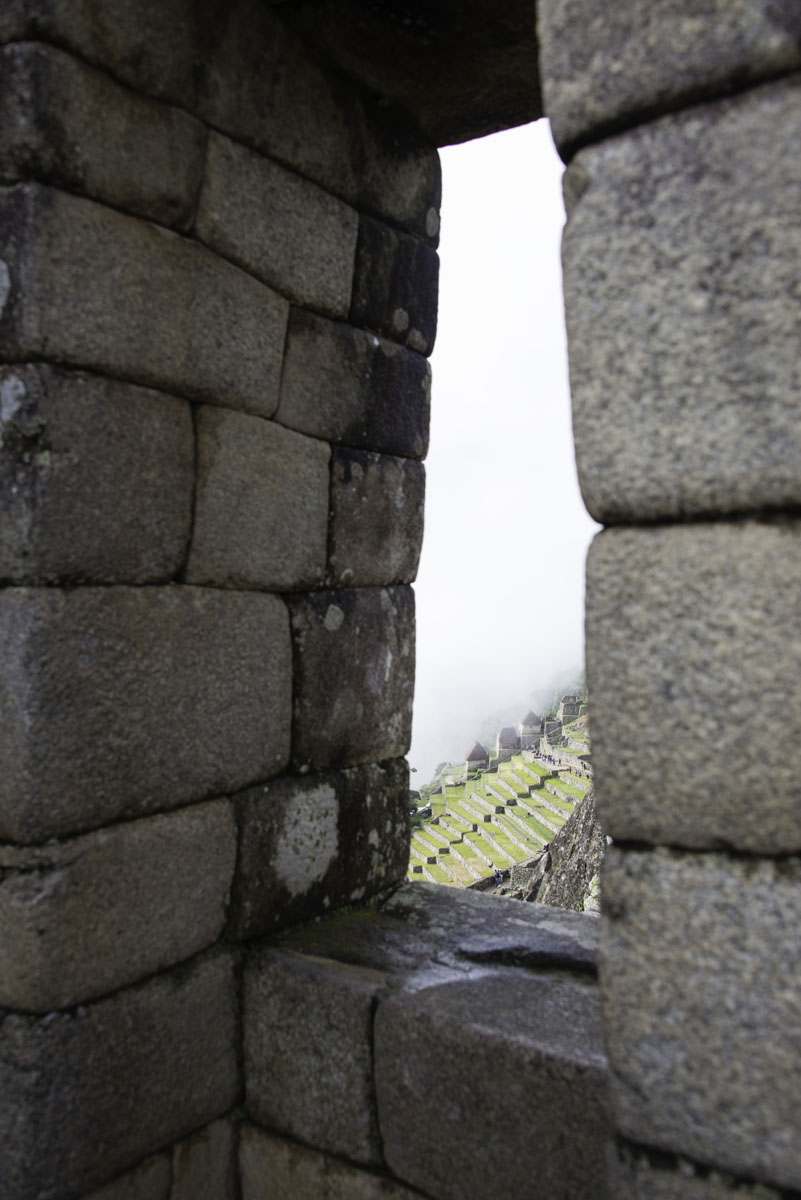 Window View at Machu Picchu