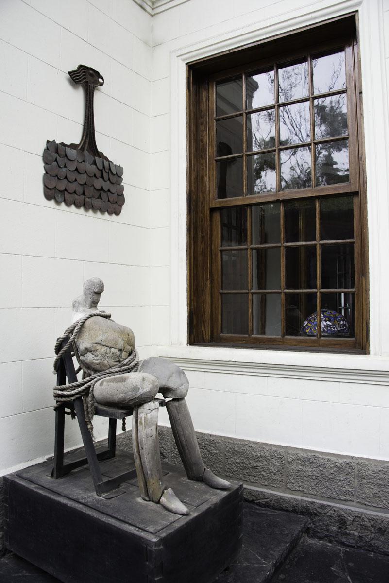 Sculpture at Second Home Peru