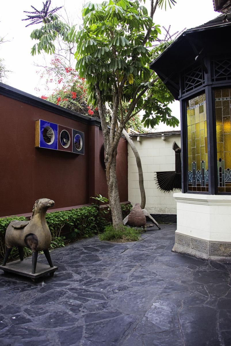 Courtyard Art at Second Home Peru