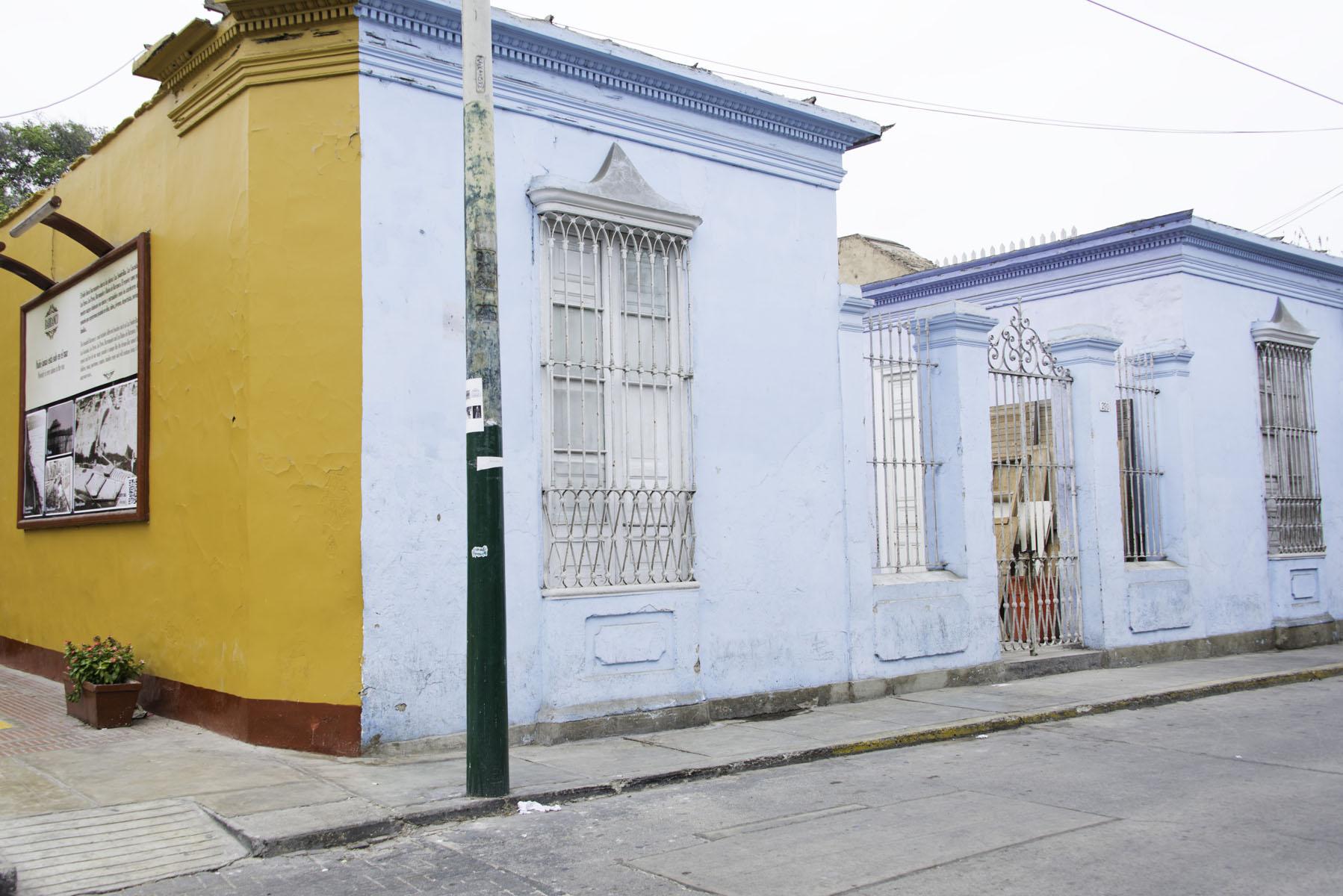 Colorful Buildings in Barranco Lima