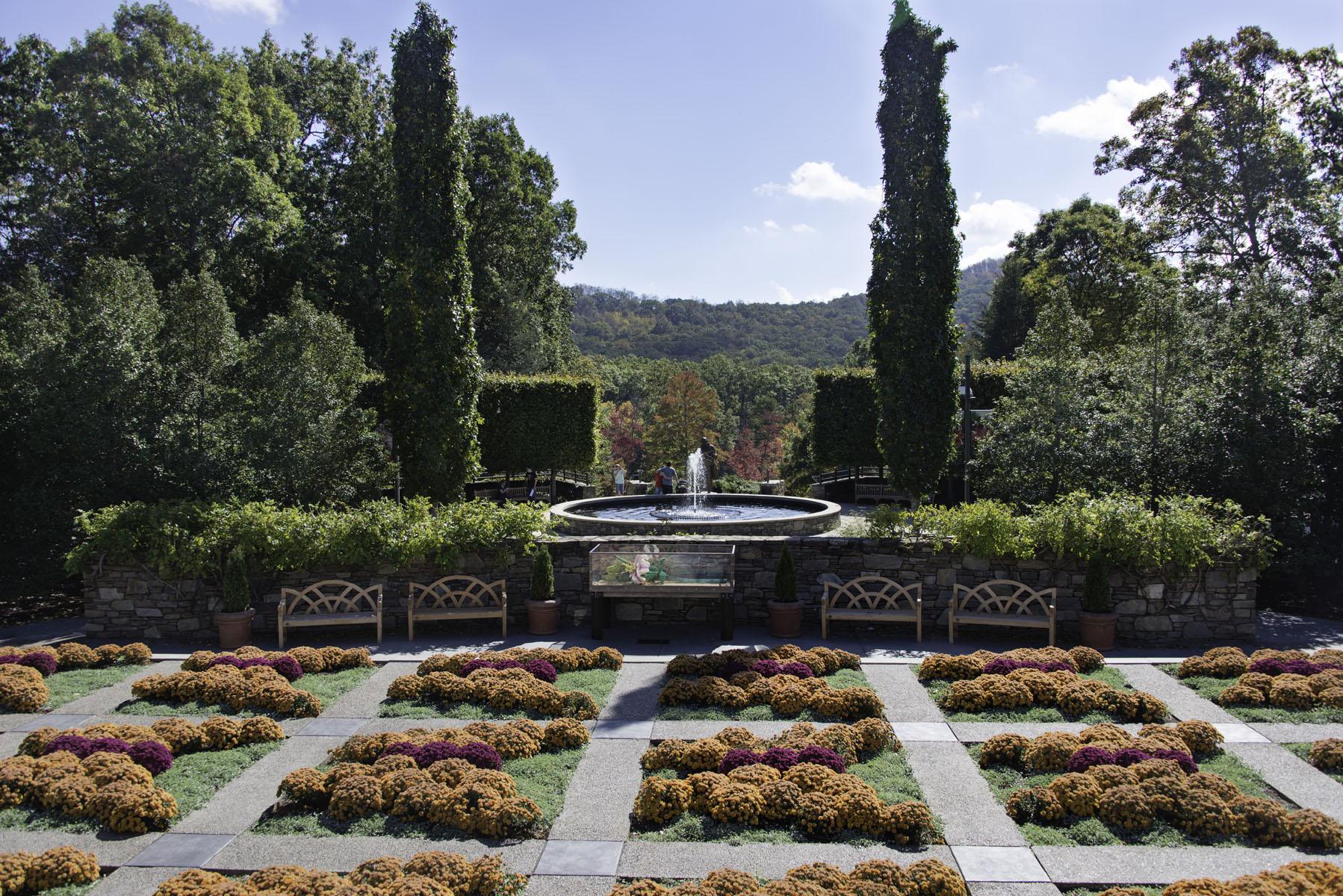 Formal Garden at the North Carolina Arboretum