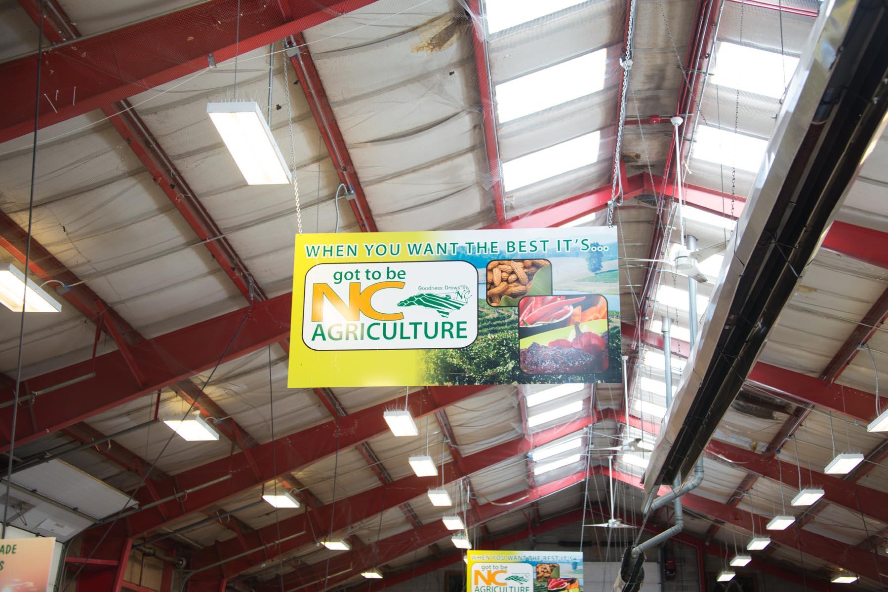 Western North Carolina Farmers Market Sign