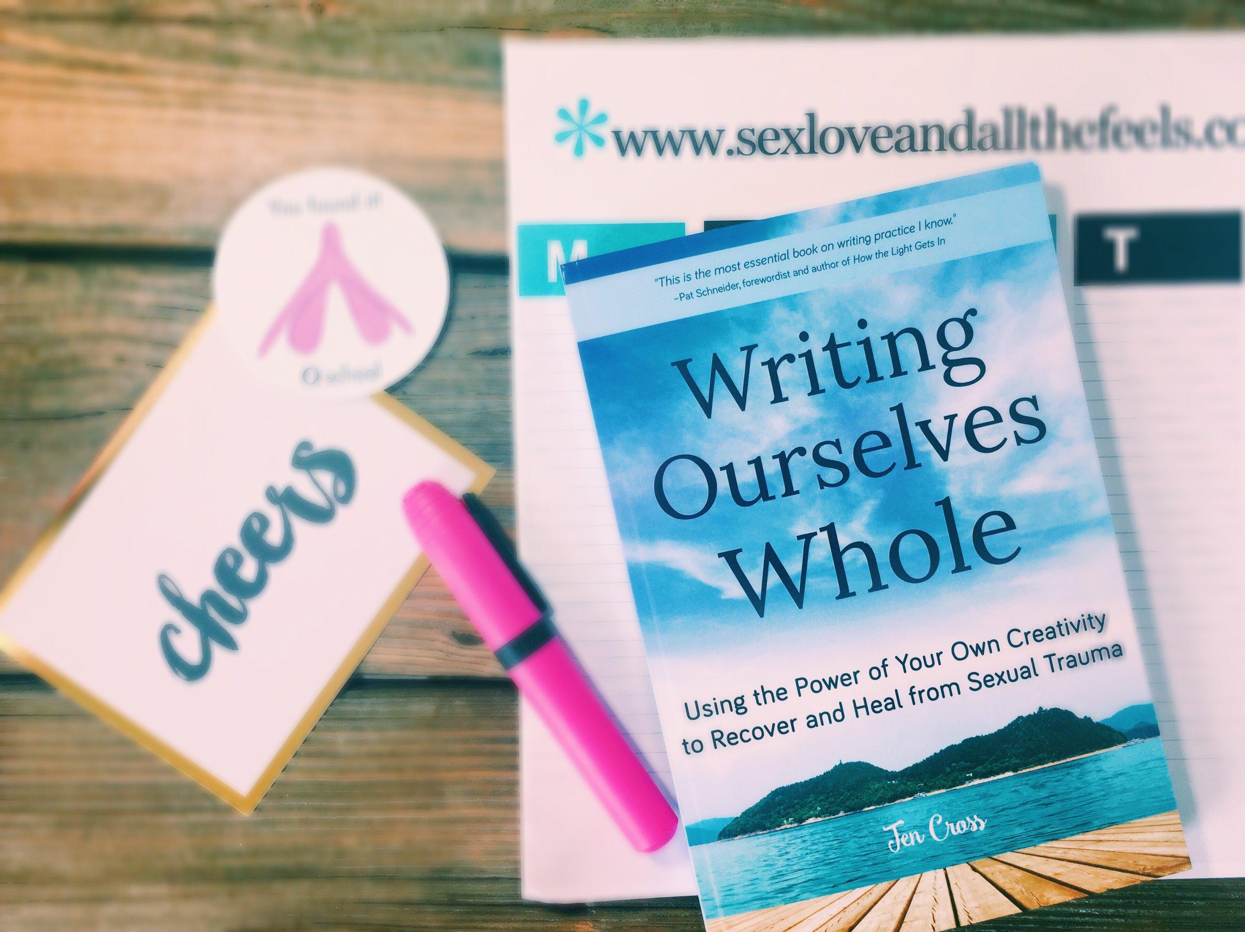 writing heal thing sexual trauma