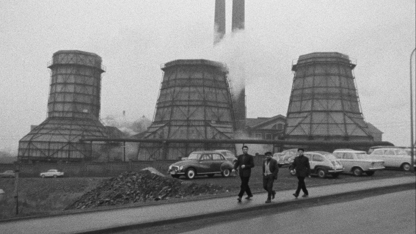 루르 Mülheim (Ruhr)  Germany / 1964 / B&W / Sound / 15min / DCP
