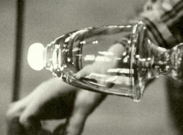 How to Make Glass(Mechanically)  Peter Nestler in collaboration with Zsóka Nestler, Sweden 1970
