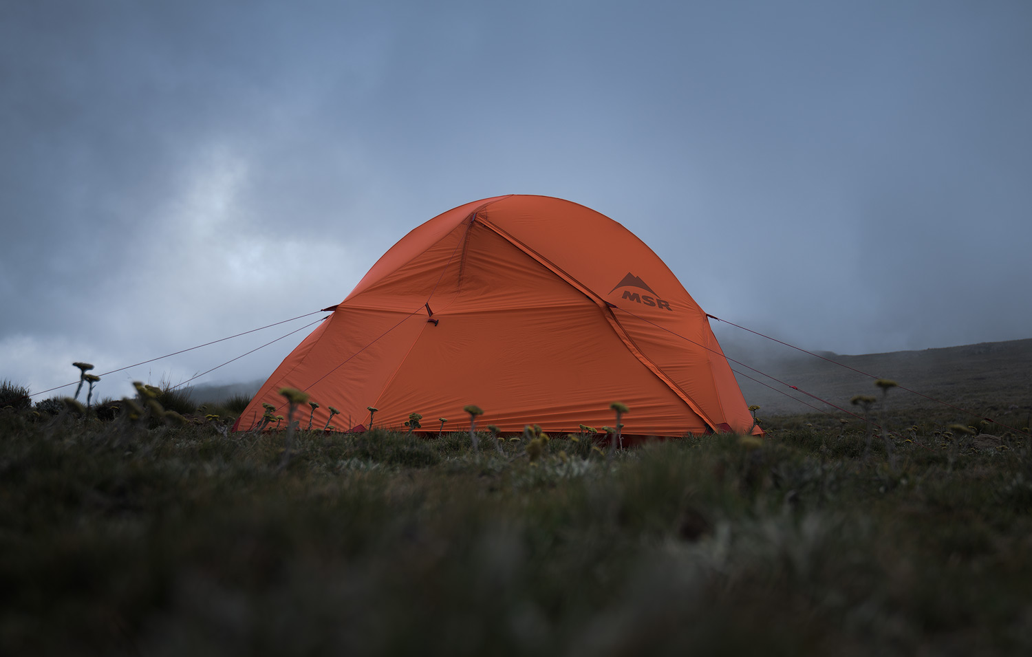 This is my MSR Access 1 tent. I absolutely love this tent. Its a lightweight (1.7kg) 1-man 4-season tent, quite small but I like to stay organised in the tent so the space is plentiful for me. It stands up well in heavy wind.