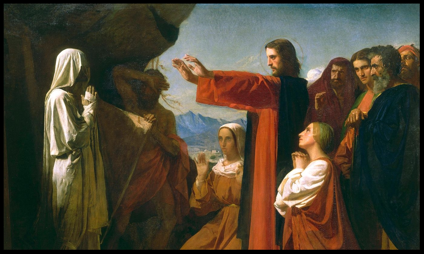 jesus lazarus