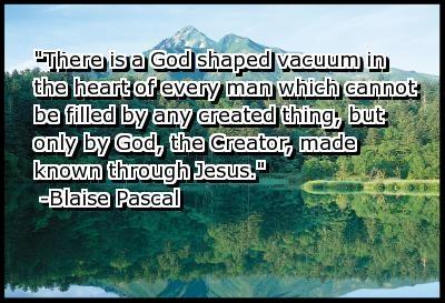 god shaped vacuum