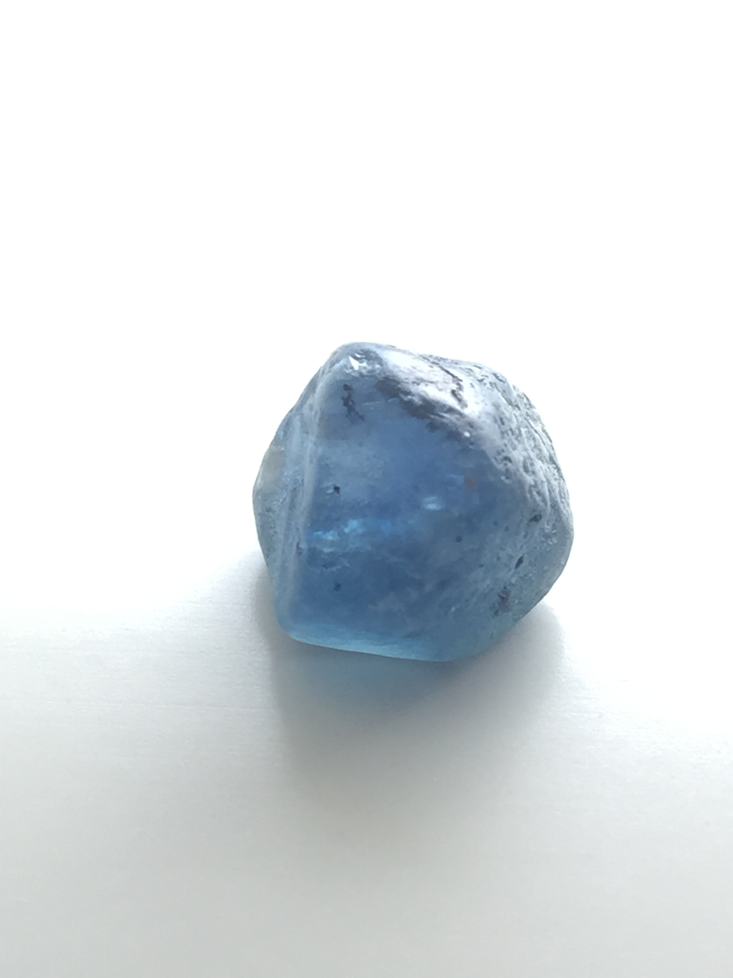 Rough sapphire crystal ~ Montana, United States