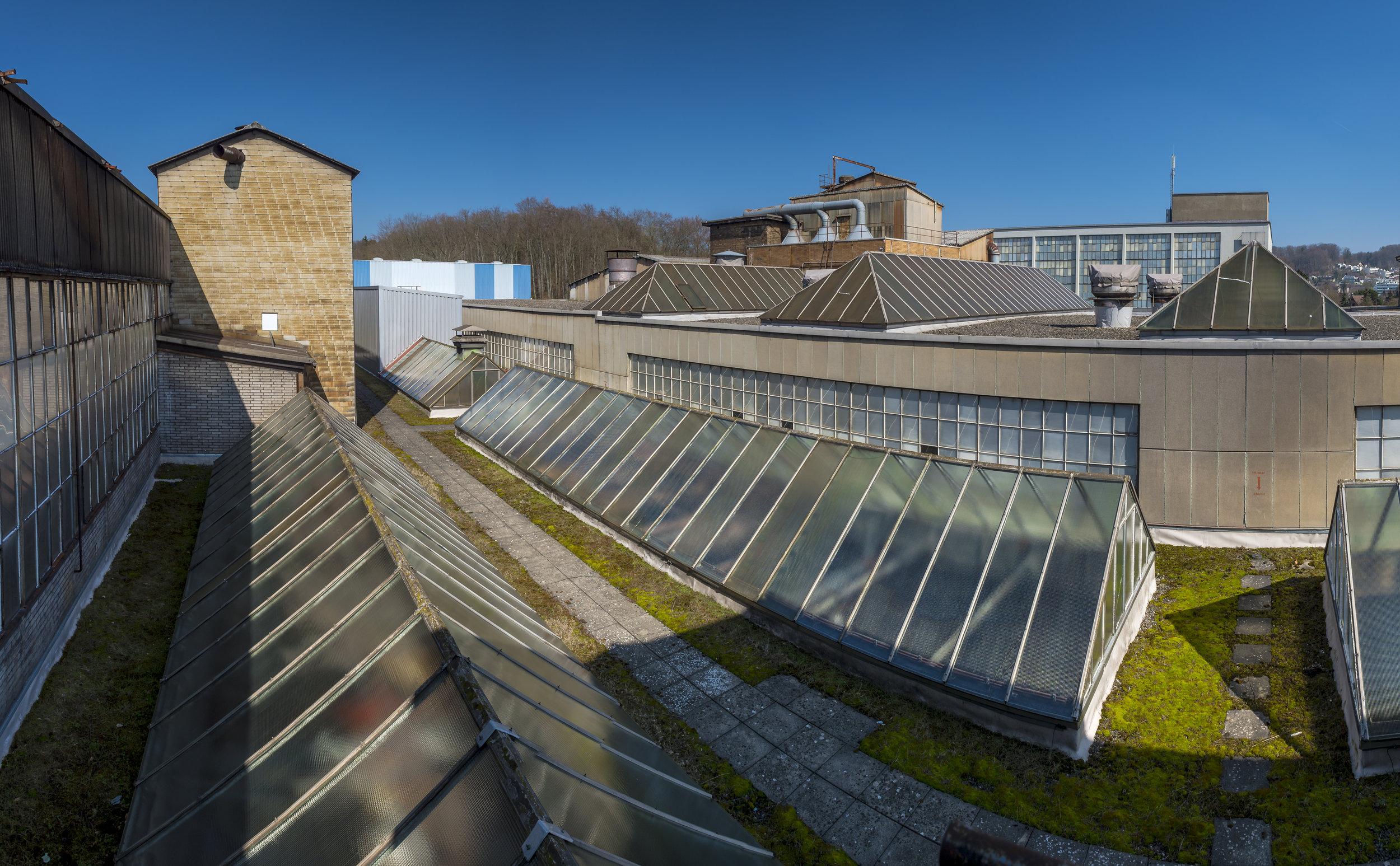 Bülachguss Übersicht Dachkonstruktionen