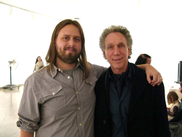 Bob Gruen and me after the panel discussion at the Brooklyn Museum 2009.  Pictured below: Blondie performs at the opening. Celebrating with my wife, Rebekah Borucki, Henry Diltz, Danny Clinch, the curator Gail Buckland, John Espinosa, Julie Grahame, Kellie McLaughlin and newly elected City Councilman Justin Brannan.