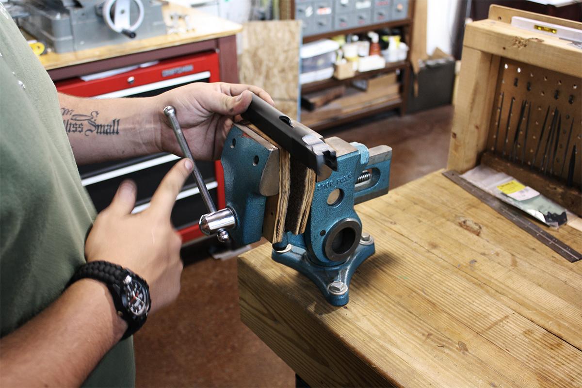 Gunsmith — Encks Gun Barn
