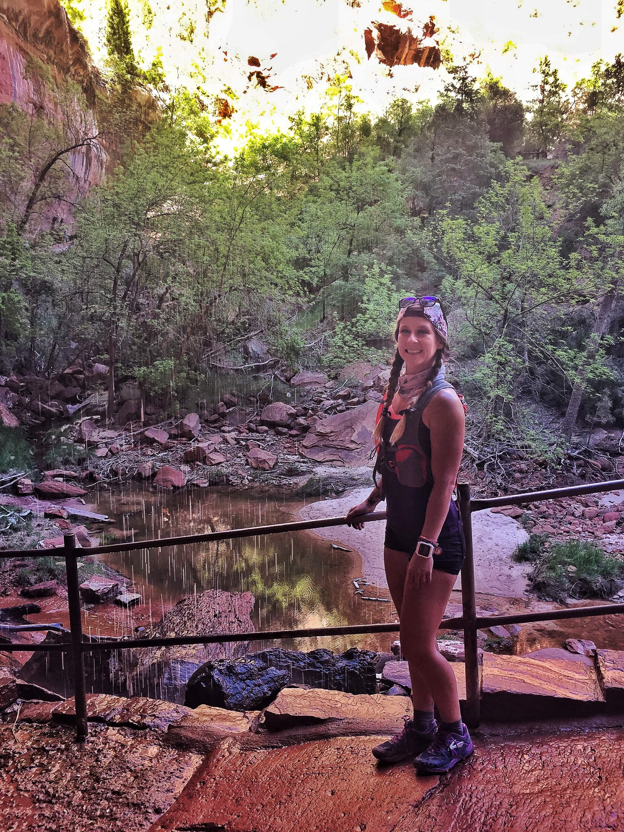 More sad rocks. Lower Emerald Pools, Zion National Park.