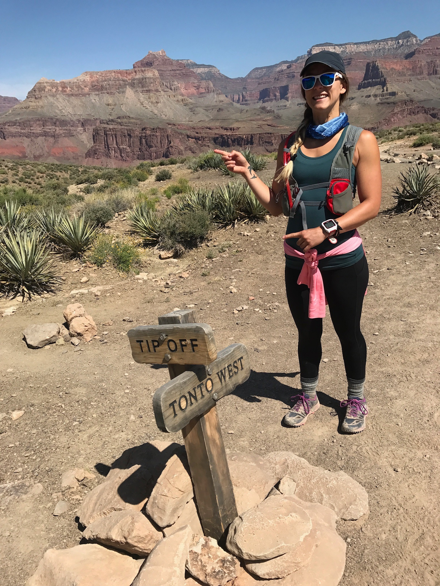 Tip Off @ Tonto Trail @ South Kaibab Trail, South Rim, Grand Canyon