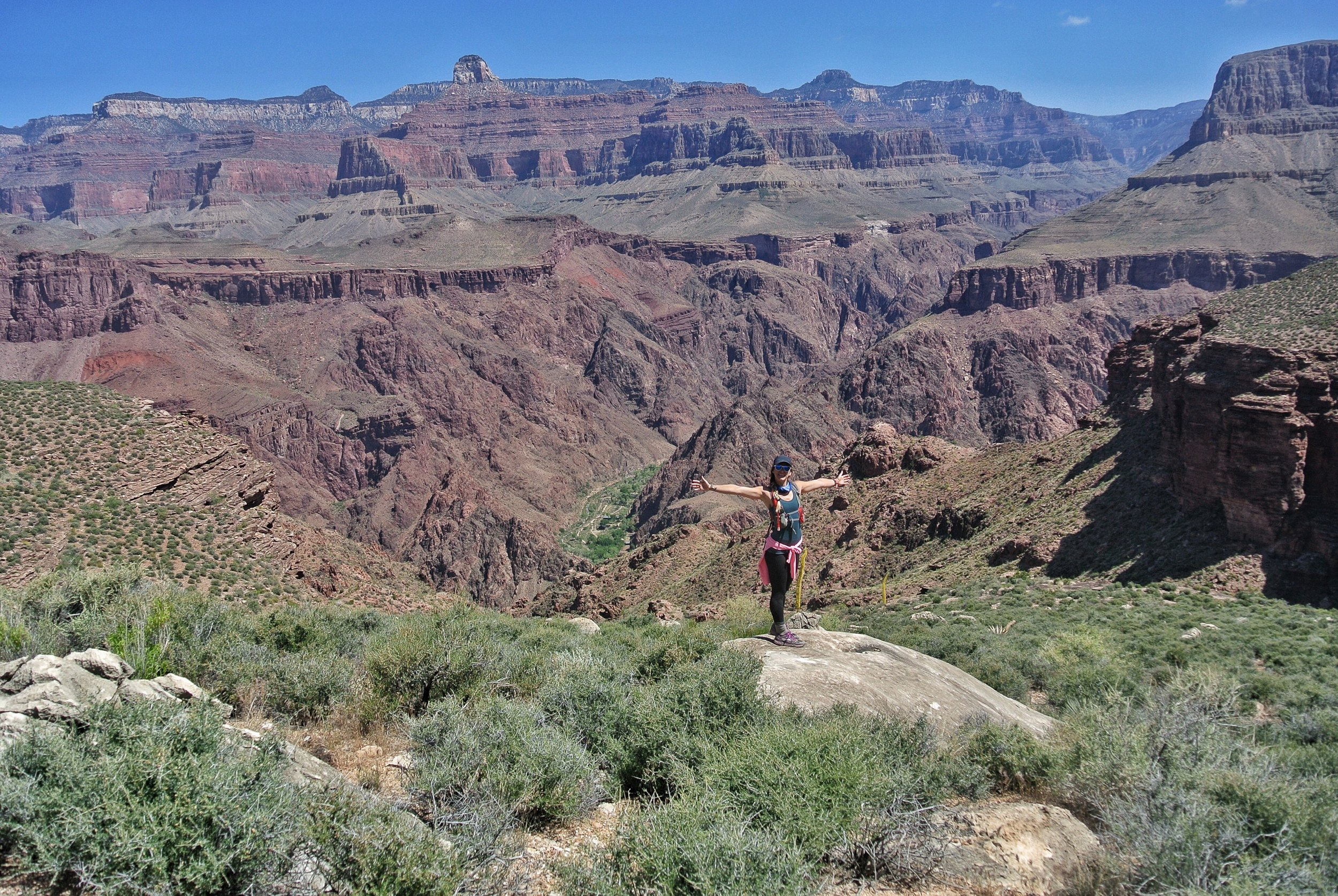 Tonto Trail overlook, Grand Canyon