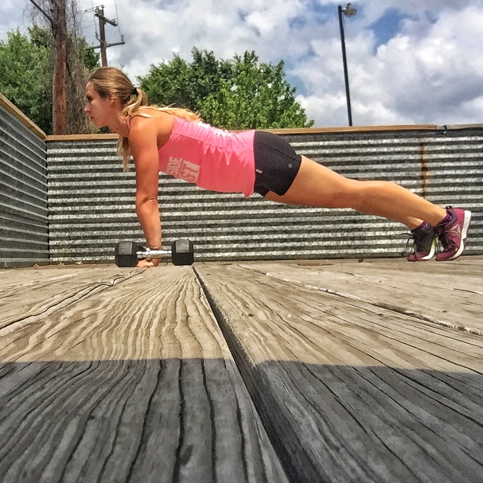 Modified Plank Position -
