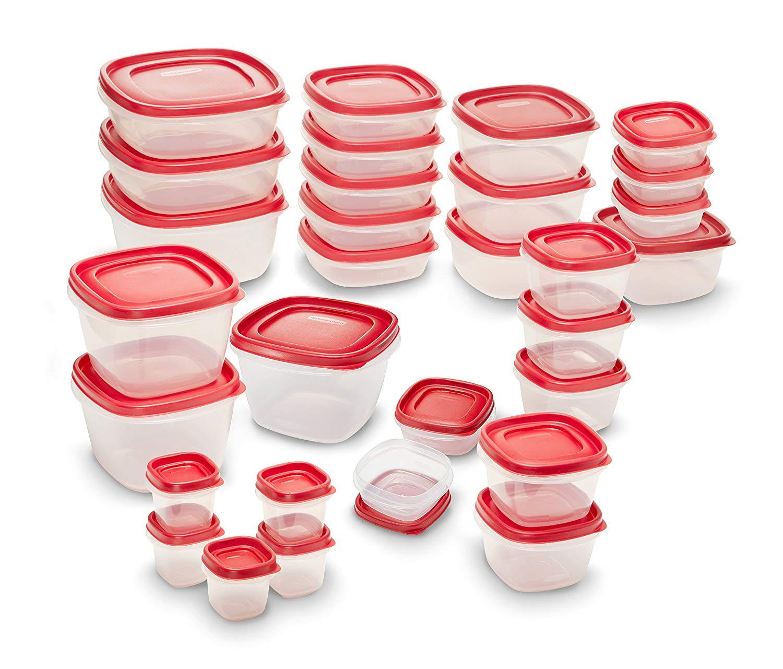 Rubbermaid Easy Find Lids Food Storage meal prep
