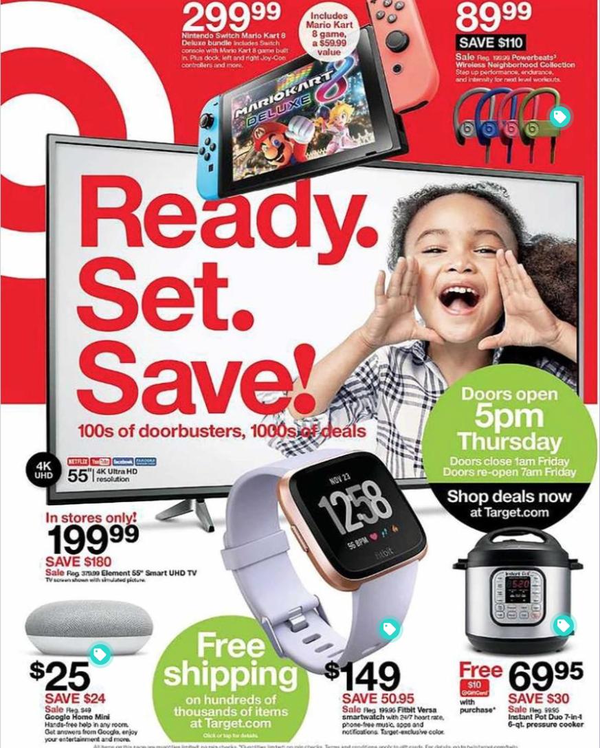 Black Friday Cheatsheet - Online Retailers Sales Roundup