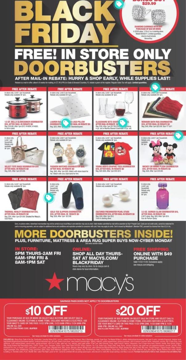Black Friday Cheatsheet - Major Retailer Roundup