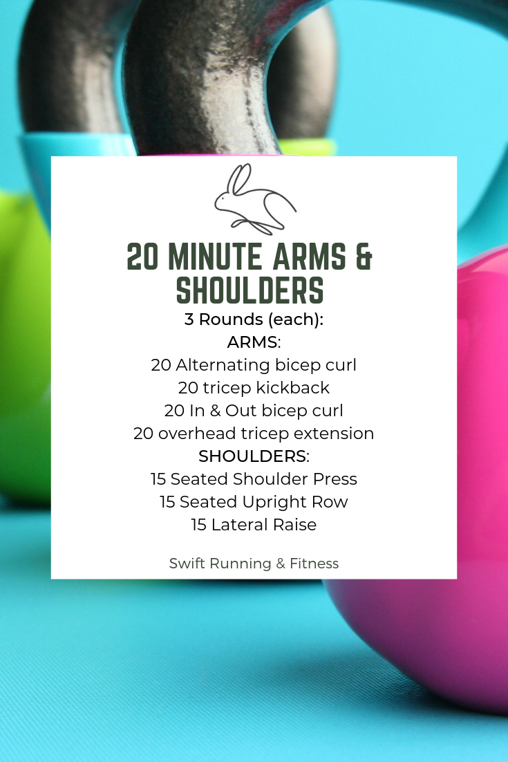 Weekly Workout Arms & Shoulders