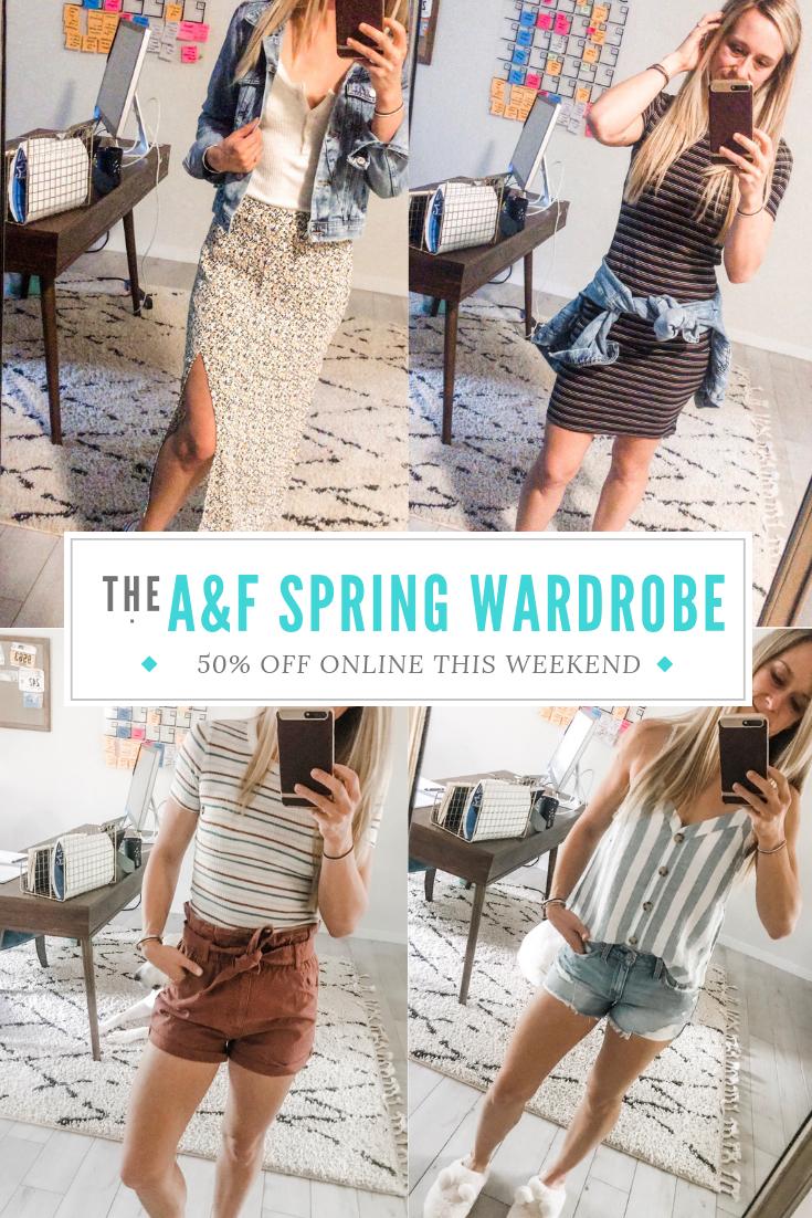 A%F Spring Wardrobe