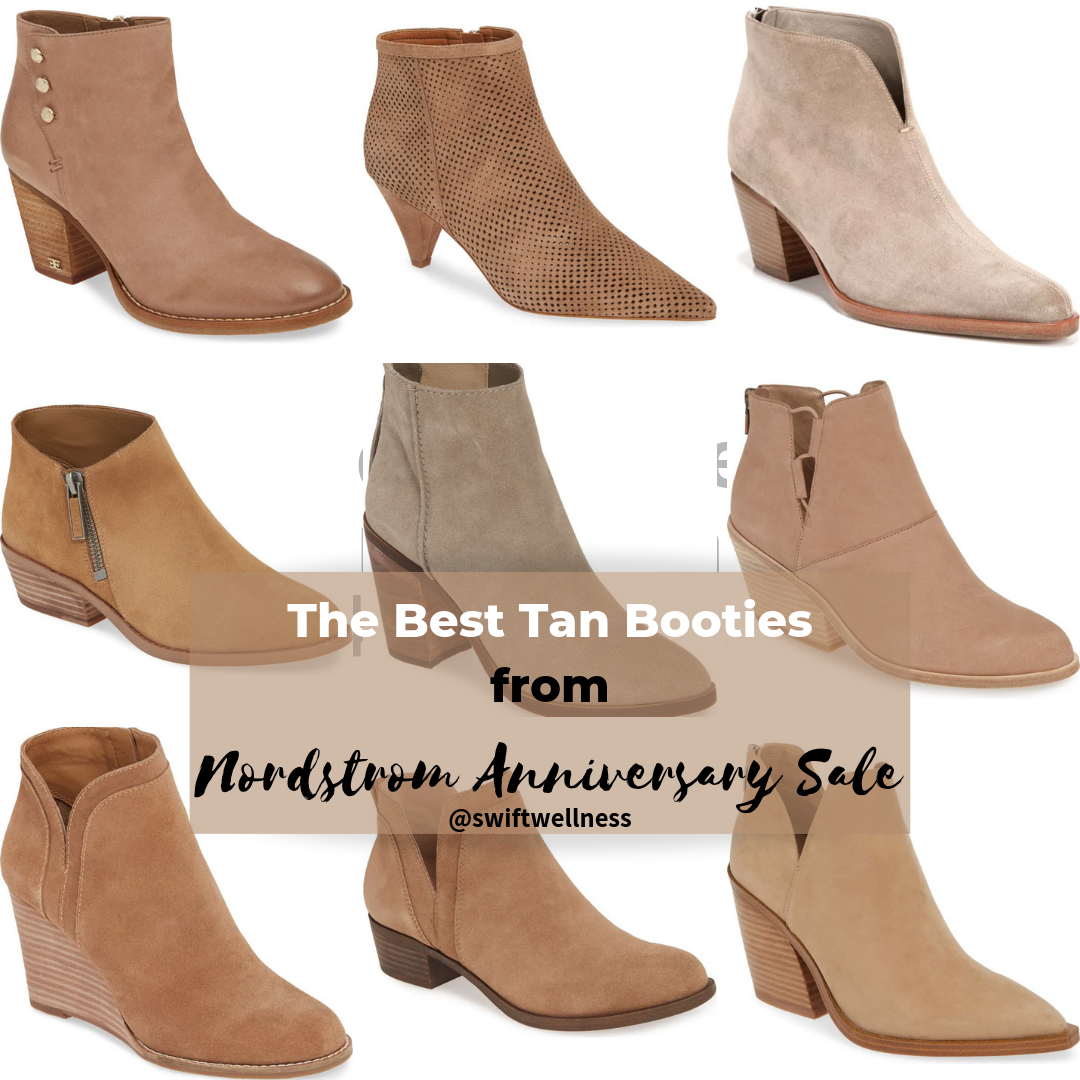 The Best Tan Booties of the Nordstrom Anniversary Sale
