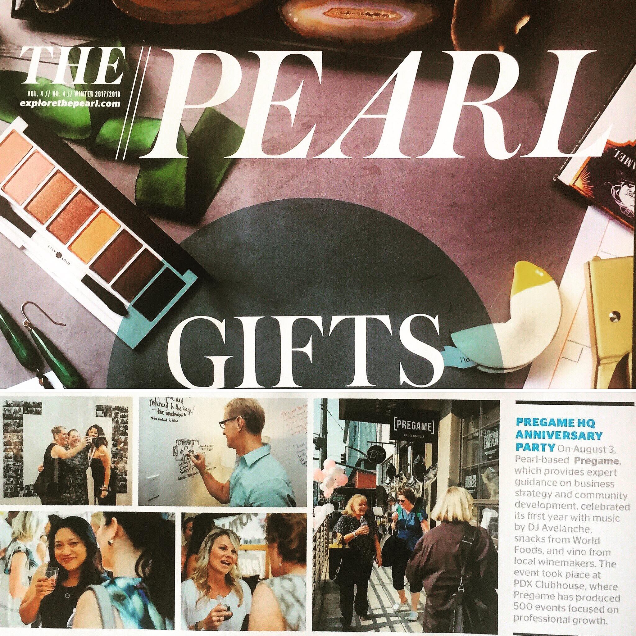 pregame in the pearl magazine