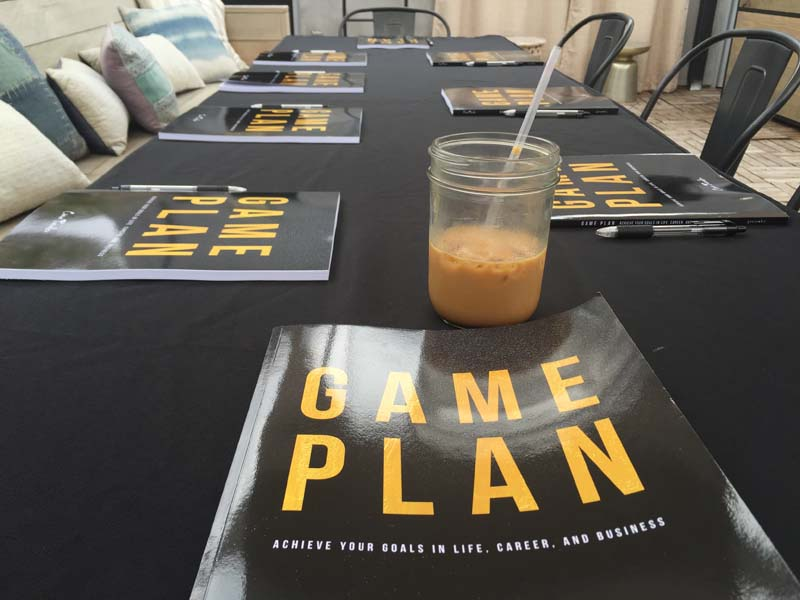 Then It became a book… - After a few years of sharing the goal worksheets online, Ciara pulled it all together into Game Plan: Achieve Your Goals in Life, Career, and Business.
