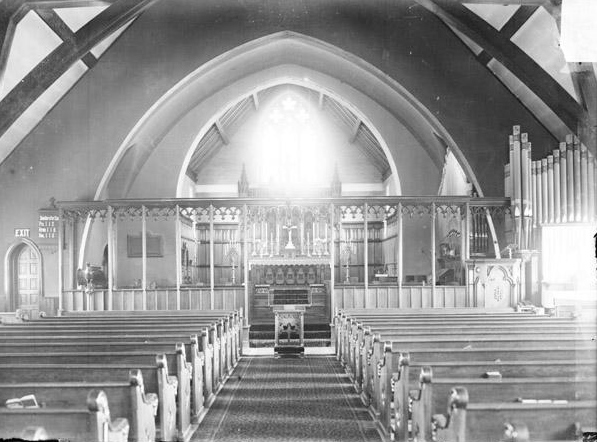 Church of the Redeemer in Hyde Park, planted by the people of St. Paul's in 1889.