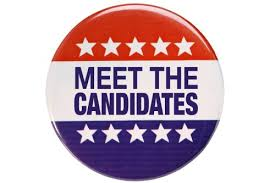 October '18  - Meet the Candidates Forums