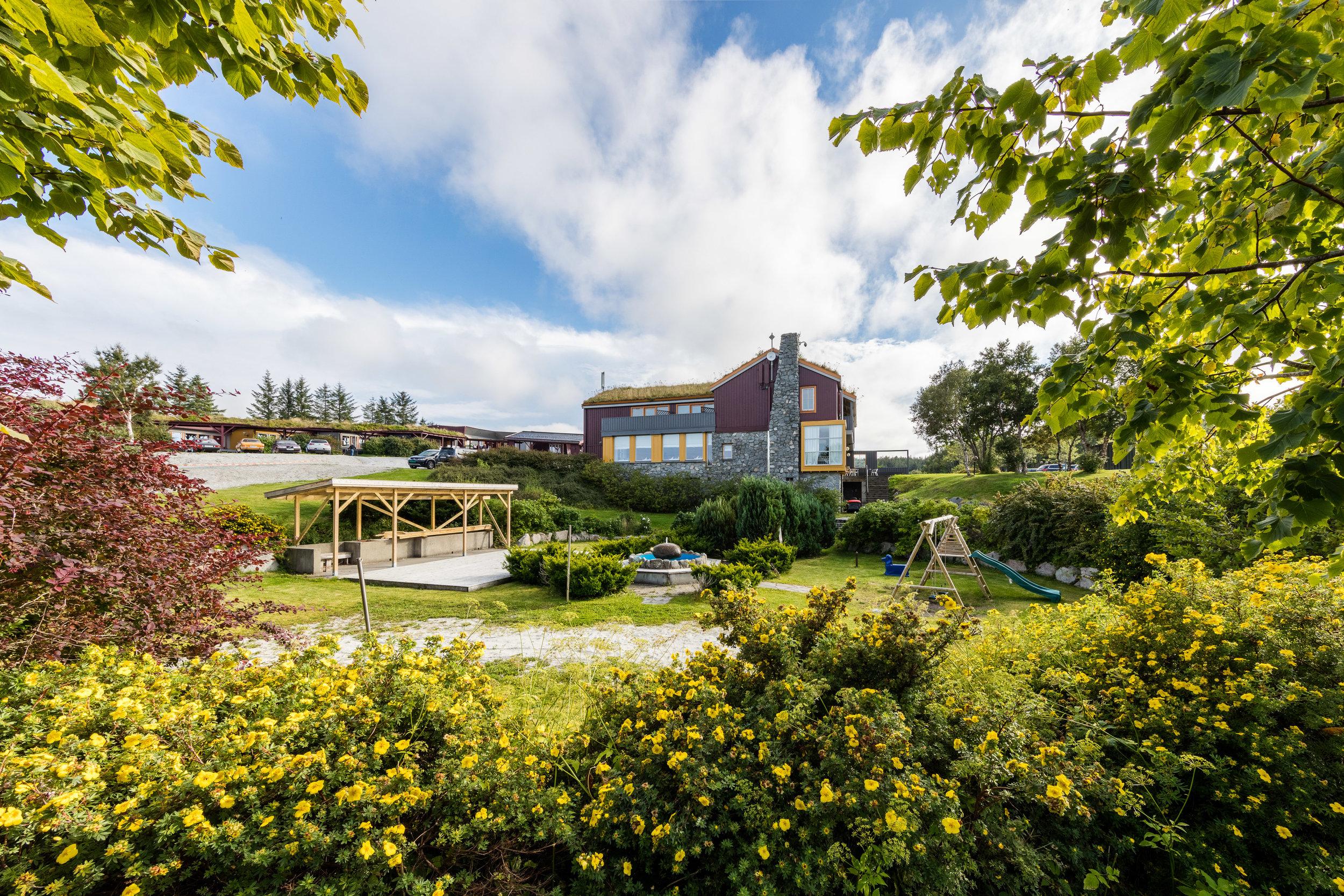 Dolmsundet hotell er et miljøvennlig hotell