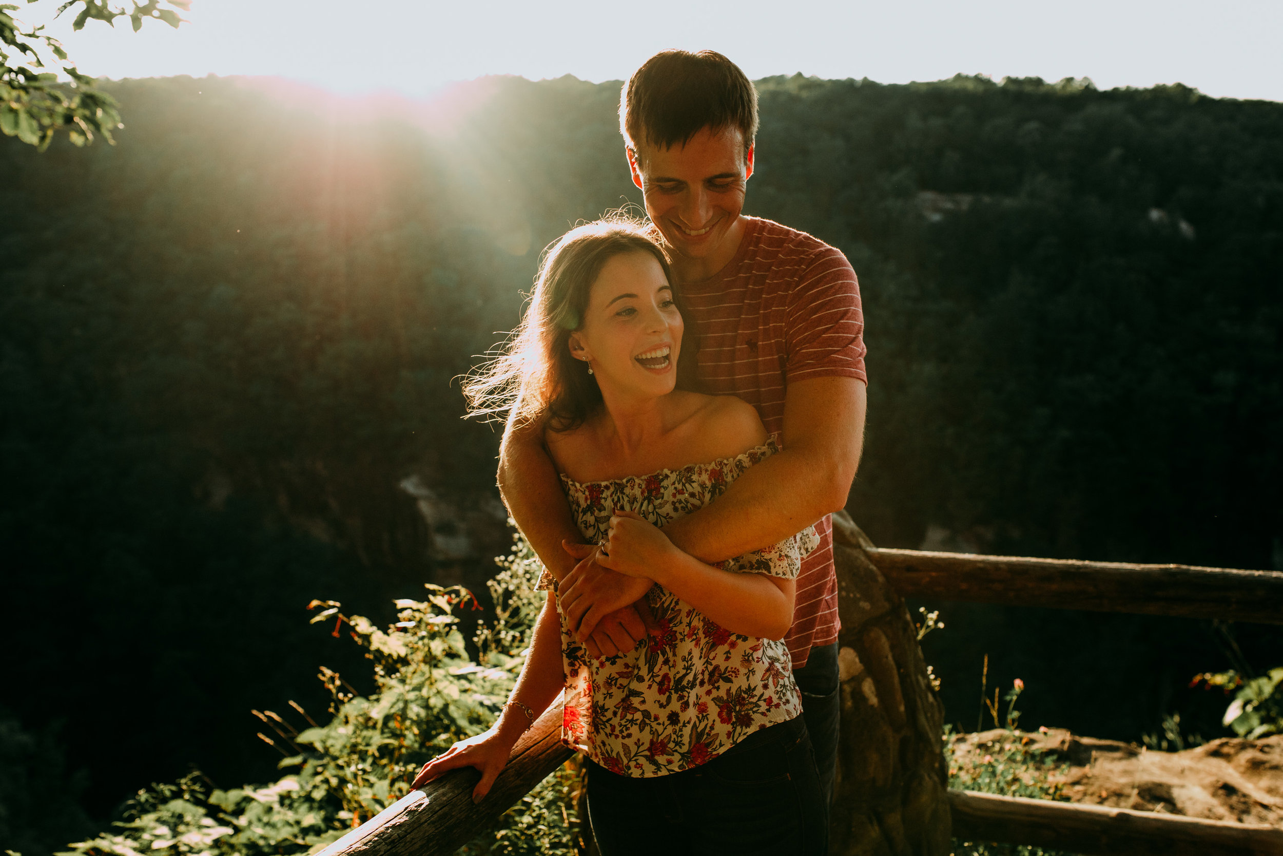 byron + kasey - Cloudland canyon state park - Rising fawn, georgia