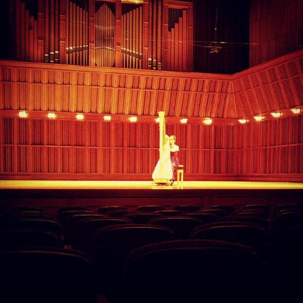 Recital at Ball State University, Sursa Hall 2013 Photo: Stephanie Meredith