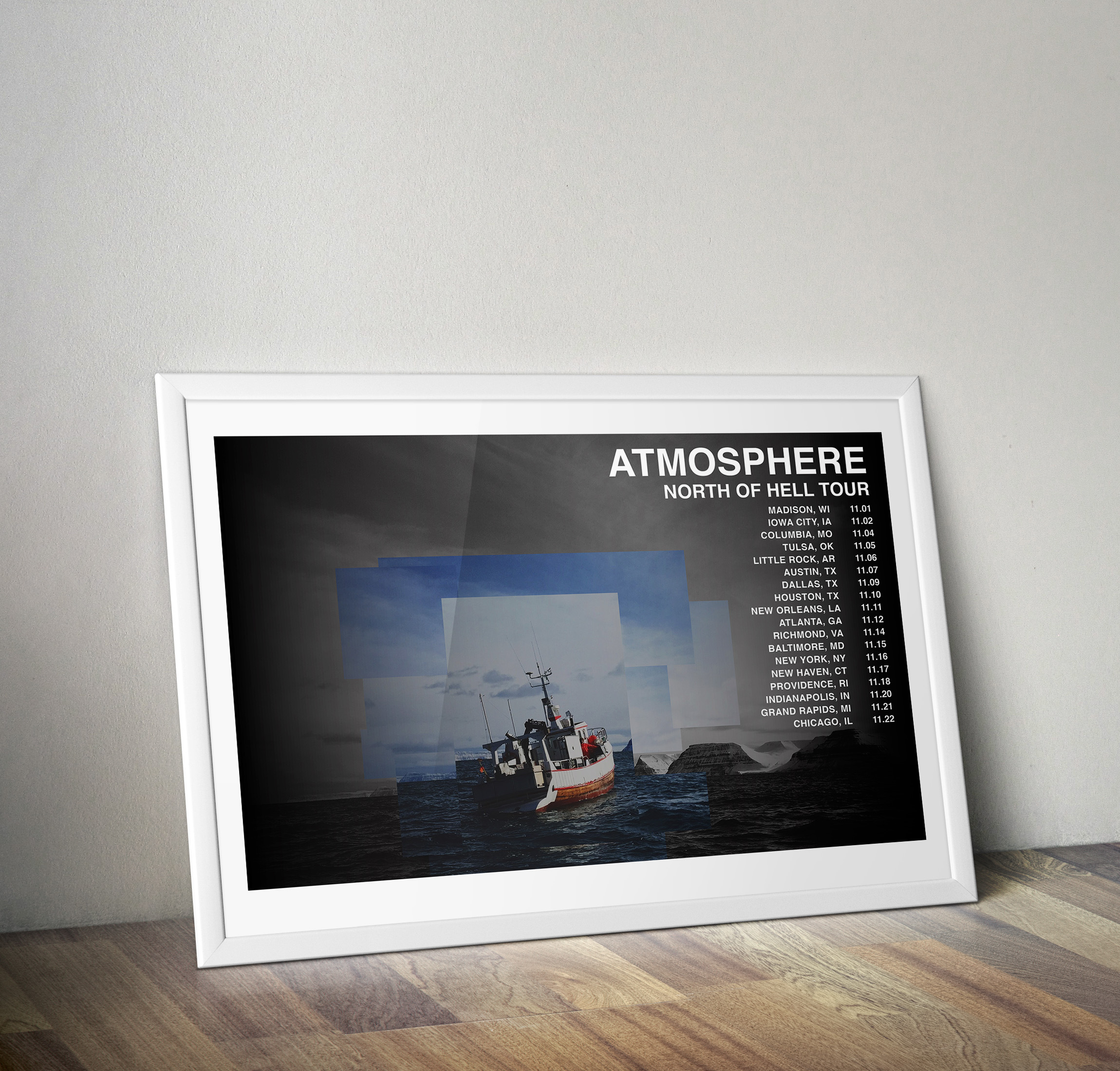 Tour Schedule Poster