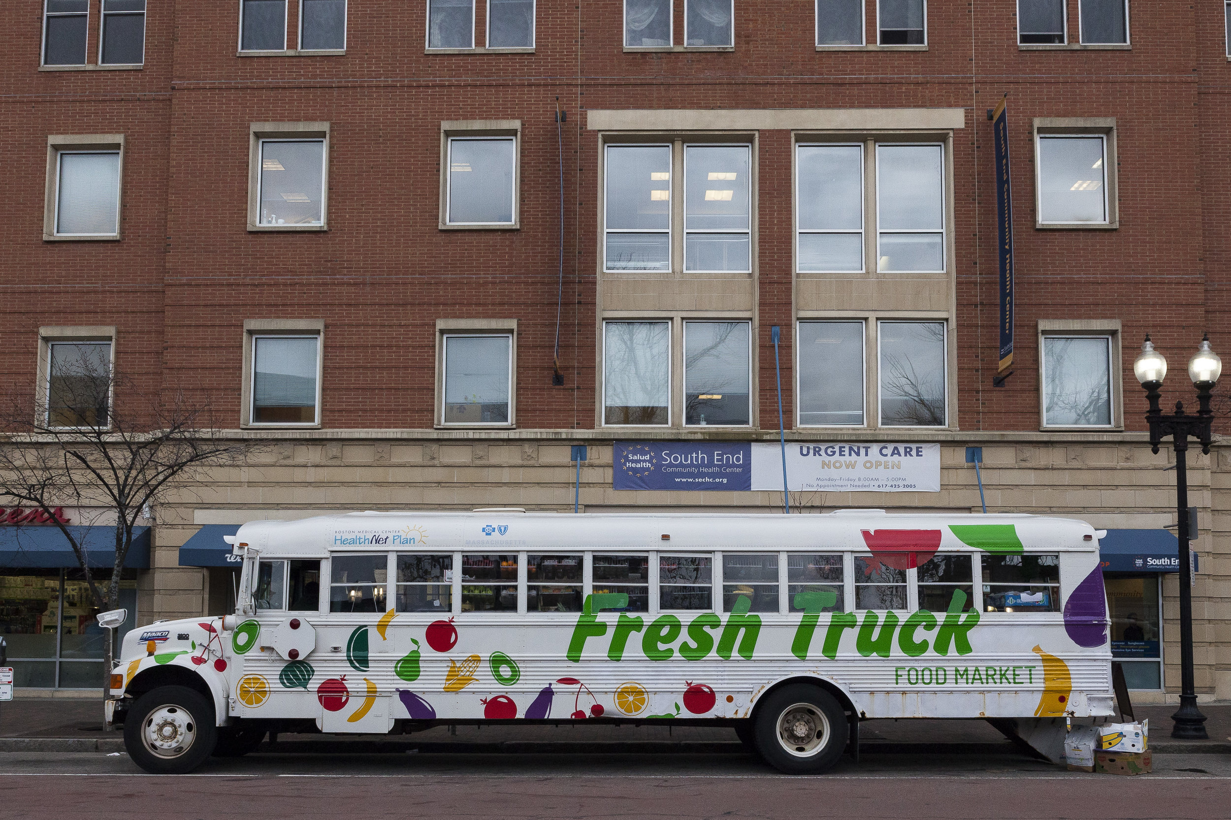Founded in 2013 by Josh Trautwein and Annika Morgan, Fresh Truck is a proactive effort to improve the well-being of Boston by providing a healthy food option in communities who need it most.