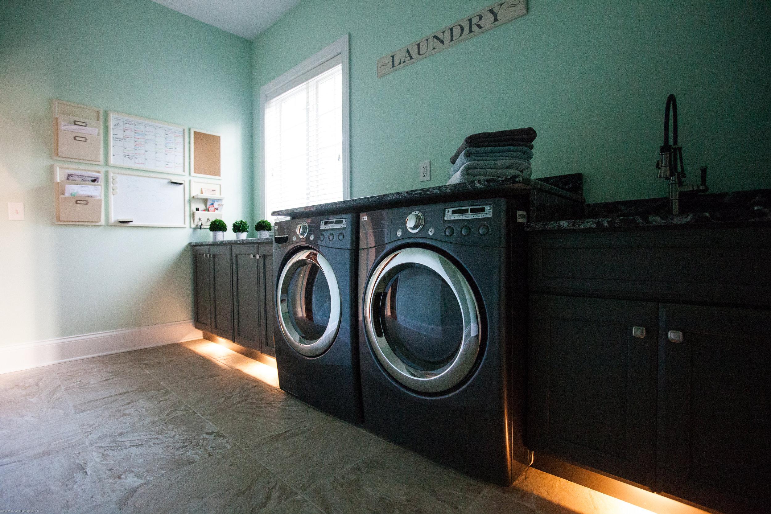 Laundry Room Kick Project