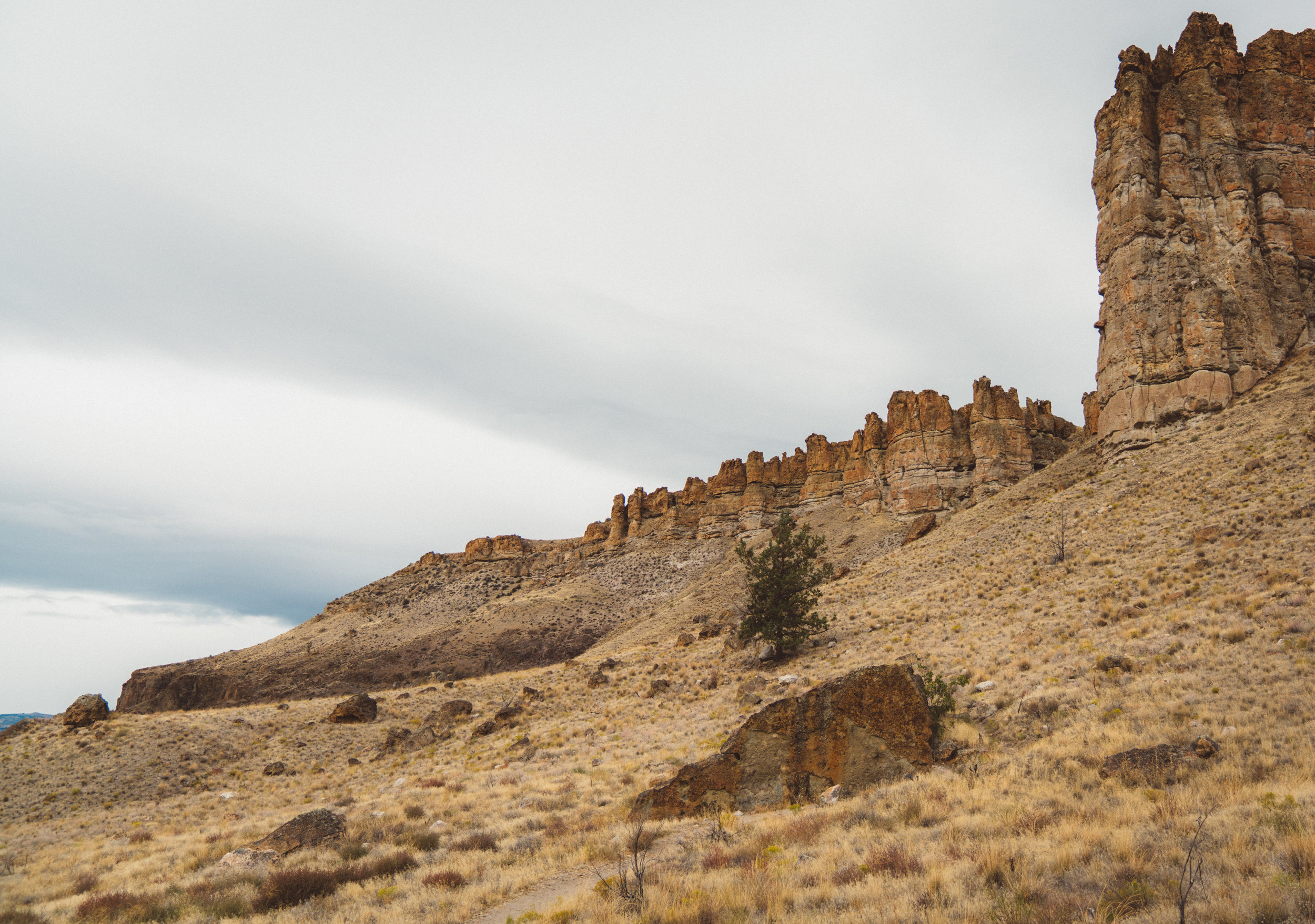 John Day Fossil Beds National Monument, Clarno Unit
