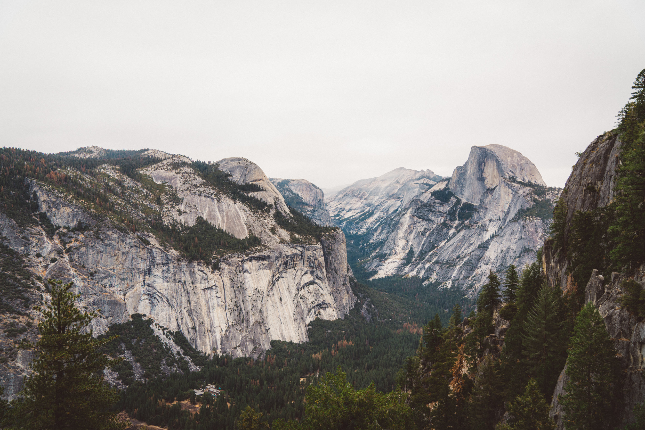 Half Dome from 4 Mile Trail.